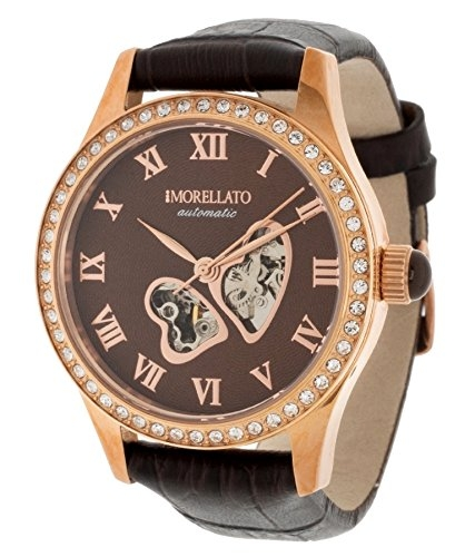 Morellato  Automatic Watch Analogue Display and Leather Strap R0121109505