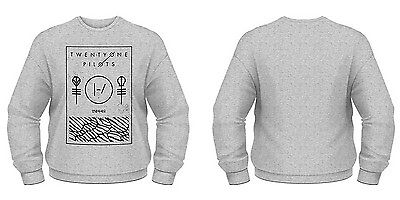Twenty Uno Piloti 'Sottile Linea Scatola' Crew Neck Sweatshirt - & OFFICIAL