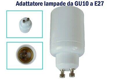 adattatore per lampada da GU10 ad  E27