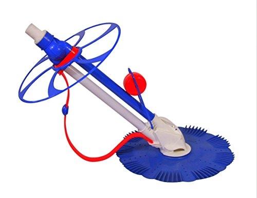 Moko Super Clean II - Robot Idraulico Pulitore per Piscina Interrata & Fuoriterra con Potenza Pompa Min 0,75 Hp