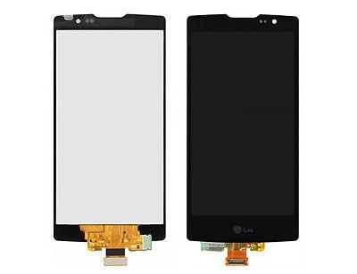GLS: DISPLAY LCD + TOUCH SCREEN ASSEMBLATO PER LG SPIRIT C70 H420 H440 VETRO