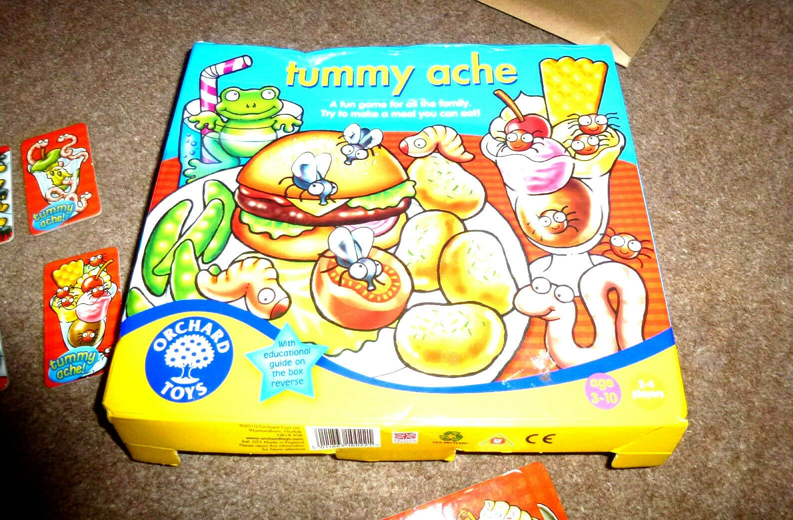 Tummy Ache Game - Age 3 - 10 Yrs From Orchard Toys