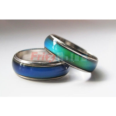 RING L'ANELLO 1 MOOD CAMBIA COLORE IN BASE ALL'UMORE - MISURE VARIE jz