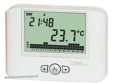 Elettrodomestici riscaldamento climatizzazione termostati for Cronotermostato orbis