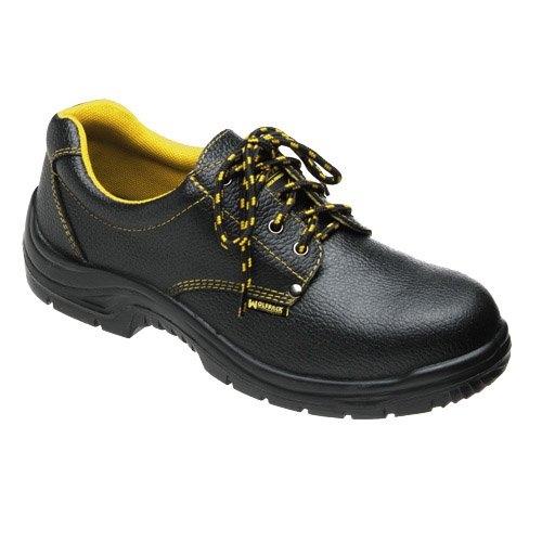 Wolfpack 15018115 - Scarpe di sicurezza in pelle nera # 39