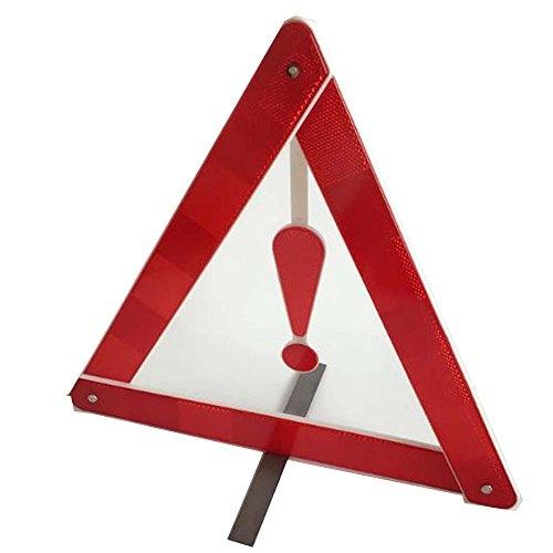 Q4Travel Triangolo Di Segnalazione Auto; Triangolo Rosso Di Avvertimento, Triangolo Di Sicurezza Di Emergenza Catarifrangente