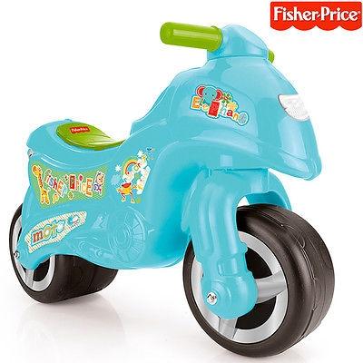 La Mia Prima Moto Primi Passi Fisher-Price Motorino Bambini Azzurro Infanzia