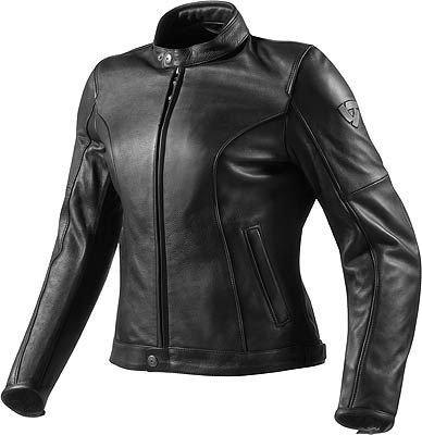 Giacca moto donna pelle Rev'it Roamer Ladies nera 38