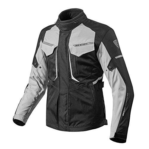 FJT204 - 4030-M - Rev It Safari 2 Motorcycle Jacket M Sand Black