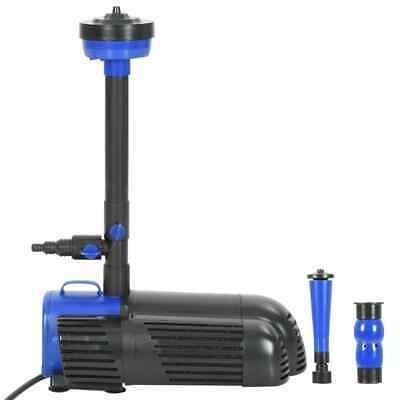 vidaXL Pompa per Fontana 120W 3600 L/h Sistema di Pompaggio Idraulico Laghetto
