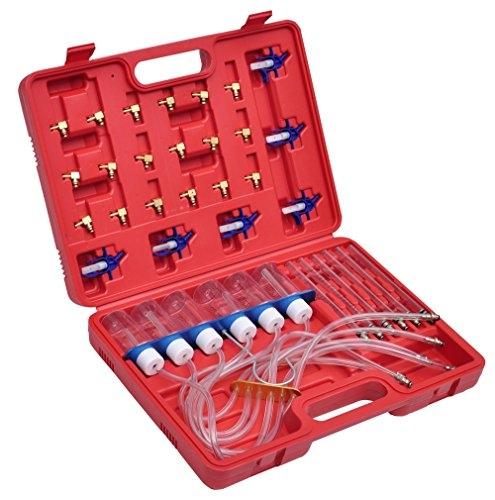VidaXL 210040Einspritzer Test Kit with Adapter