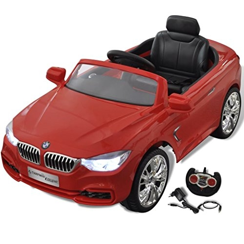 vidaXL BMW Battery-Powered Kids Car With Remote Control Red
