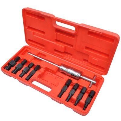 vidaXL Set de herramientas tirador de rodamientos de agujero ciego 9 piezas