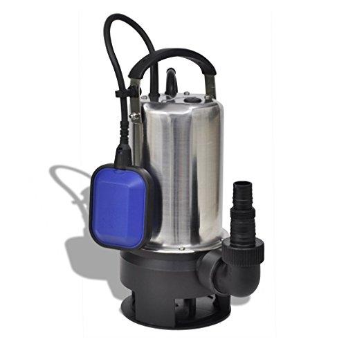 vidaXL Tauchpumpe Schmutzwasserpumpe Garten Abwasser Teichpumpe 750 W 12500 L/h