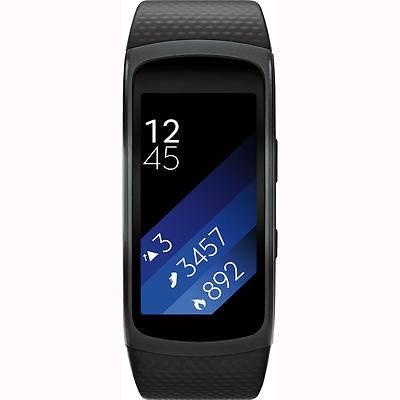 Samsung Gear Fit 2 SM-R360 - Large Nero