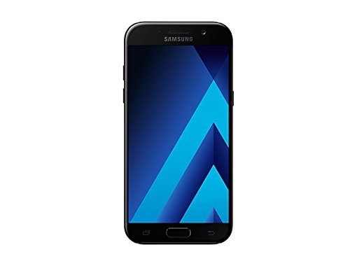 Samsung Galaxy A5 2017, Smartphone libre,5.2'', 3GB RAM, 32GB, 16MP/Versión italiana: No incluye Samsung Pay ni acceso a promociones Samsung Members, Color Negro