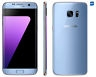 Samsung Galaxy S7 Edge, Smartphone libre (5.5'', 4GB RAM, 32GB, 12MP) [Versión francesa: No incluye Samsung Pay ni acceso a promociones Samsung Members], color Azul