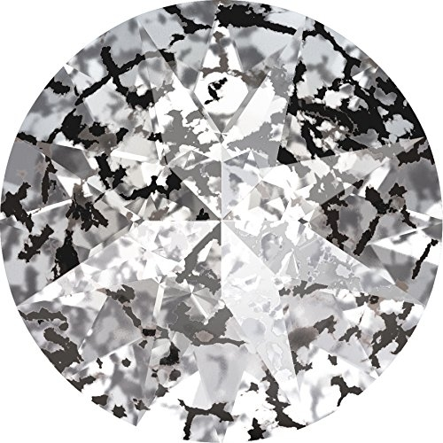SWAROVSKI® 1188 Crystal Black Patina Foiled, SS 39 (8.16 - 8.41 mm), 144 Stück