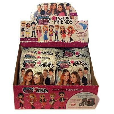 Box 12x Bustine Personaggi di MGGIE & BIANCA my FASHION FRIENDS con Espositore