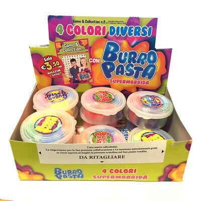 Box 10x BURRO PASTA Super morbidosa 4 colori DICERSI Elastica Superstar Elastico