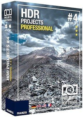 Franzis HDR projects 4 professional ** NEU & OVP ** Software ** mit Datenträger