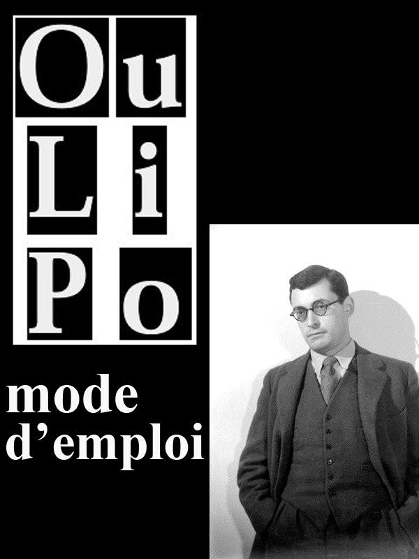 L 39 Oulipo Mode D 39 Emploi Arte Boutique