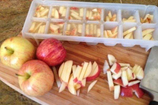 apple cubes for dogs