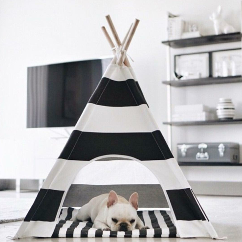 18 Gorgeous Dog Teepees That Will Convince You To Upgrade