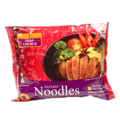 Thai Choice Instant Bag Noodles Beef 85 g