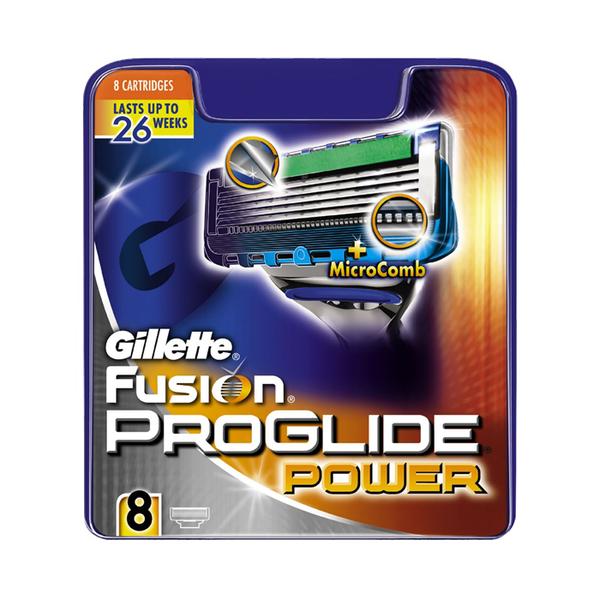 Gillette Fusion PROGLIDE Power rakblöð