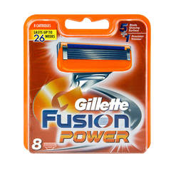 Gillette Fusion Power rakblöð