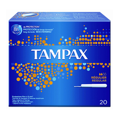 Tampax Blue Box Regular