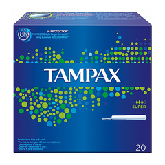 Tampax Blue Box Super