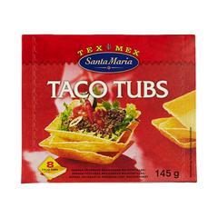 Santa Maria Taco Tubs