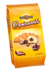 Quickbury Croissants with Choco filling