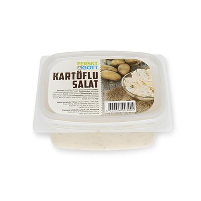 Hollt og gott kartöflusalat
