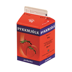 MS Þykkmjólk jarðarber 500 g