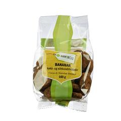 Til hamingju Bananar kakó og súkkulaði húðaðir