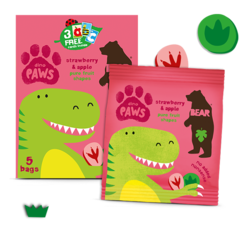 BEAR Pure Fruit Paws Dino
