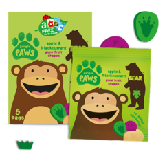 BEAR Pure Fruit Paws Jungle