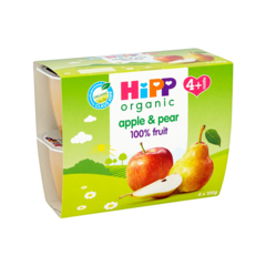 Hipp organic apple & pear 100% frui