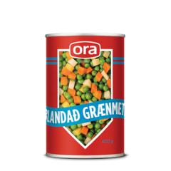 Ora blandað grænmeti 450g
