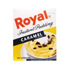 Royal  karamellu búðingur