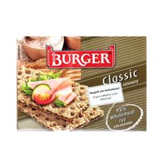 Burger hrökkbrauð classic