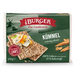 Burger hrökkbrauð kummel