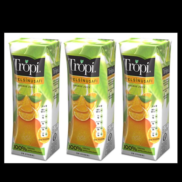 Trópí Appelsínu 3 pack
