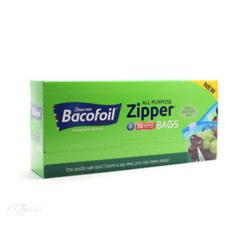 Bacofoil Zipper margnota plastpokar miðlungs