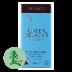 Green & Black Lífrænt Mjólkursúkkulaði Sea Salt