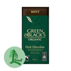 Green & Black Lífrænt Mint súkkulaði 60% HÆTT