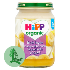 HIPP mangó og banana jógúrt blanda